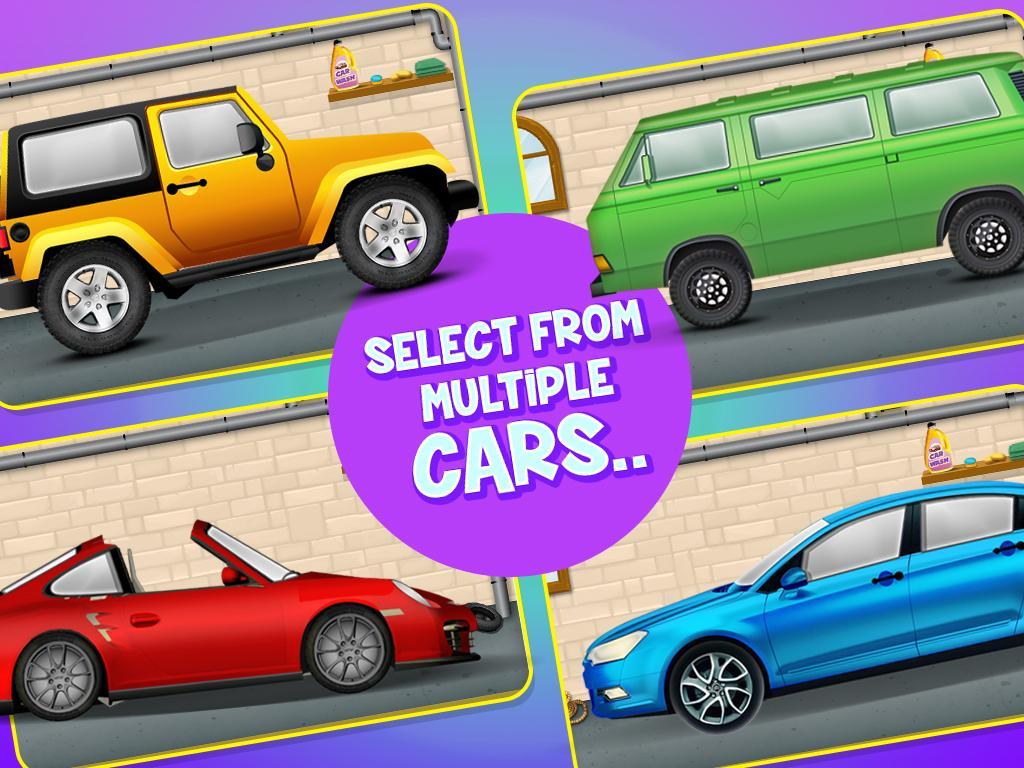 car wash salon free kids games screenshot