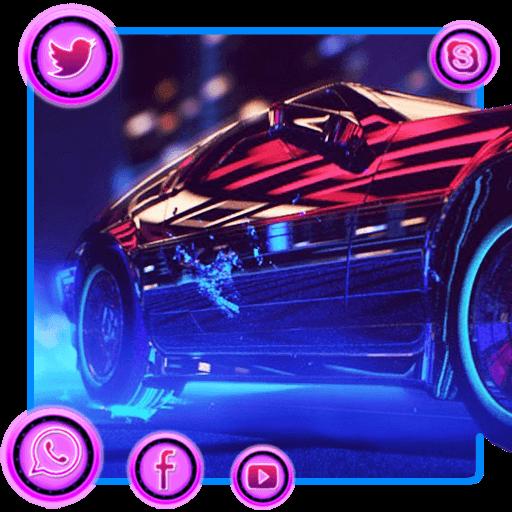 Neon Speed Theme