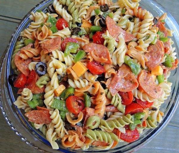 Fresh Veggies Pasta Salad (sallye) Recipe