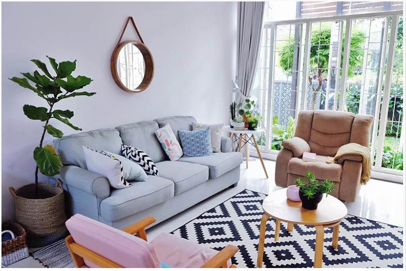10 mẫu thiết kế phòng khách nhỏ mới nhất 2019