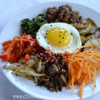 Bibimbap – Korean Rice Bowl