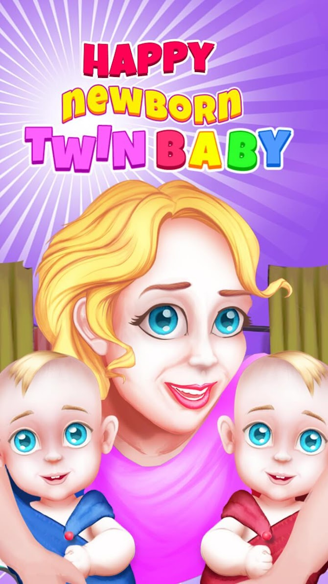 Newborn Twin Baby Pregnant Mommy - Emergency Care Android 10