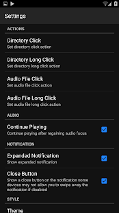 Folder Music Player - náhled