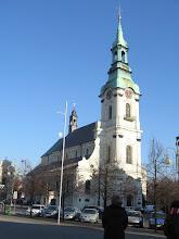 Photo: Kalisz. Sanktuarium św. Józefa. Pierwotnie gotycki, a po zawaleniu się części nawy i fasady odbudowany w stylu barokowym.