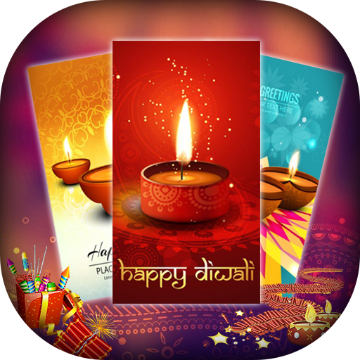 Happy Diwali Greetings Card - Diwali Wishes Card