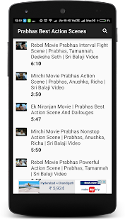 Prabhas Best Action Scenes - náhled