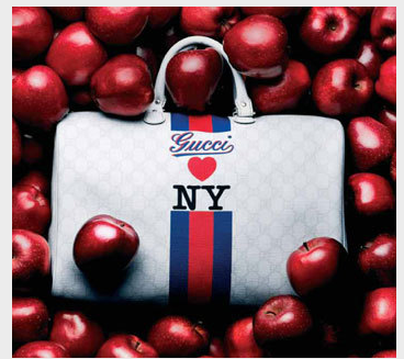 218d20f32 Gucci will add the best entries to the map and the four top posts will  score a limited-edition Gucci Loves NY handbag. image