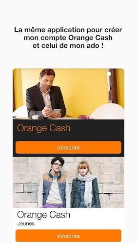 Orange Cash Android App Screenshot