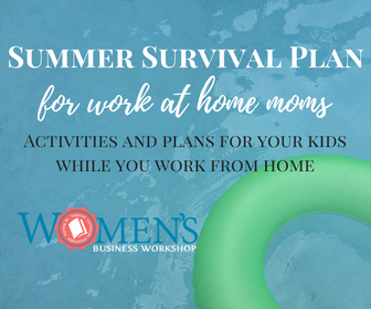 summer activities for kids when working at home