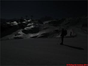 Photo: IMG_2316 Riccardo all arrivo della prima funivia, Baita Teufelsegg