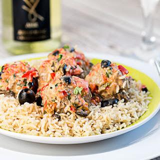 Mediterranean Meatballs With A Twist.