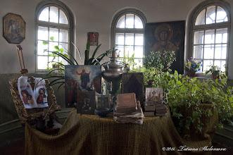 Photo: Келья иконописца на верхней галерее