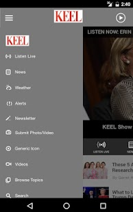 News Radio 710 KEEL Shreveport- screenshot thumbnail