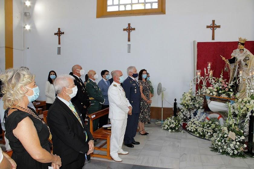 Celebración de la Virgen del Carmen en Pescadería