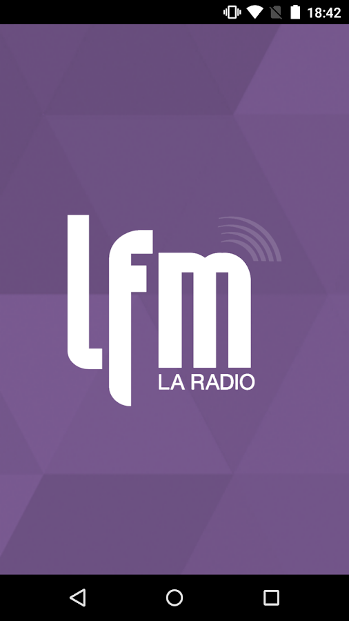 Radio LFM – Capture d'écran