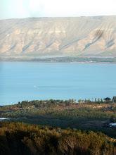 Photo: The Sea of Galilee