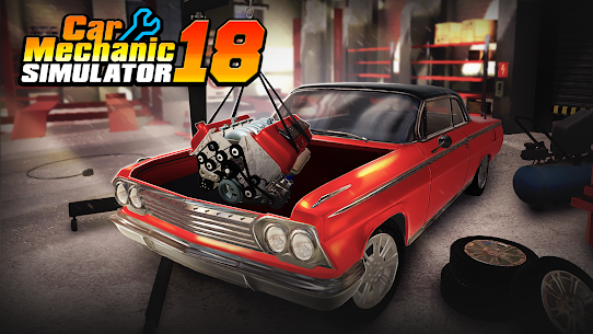 Car Mechanic Simulator 18 Mod 1.2.4 Apk [Unlimited Money] 1