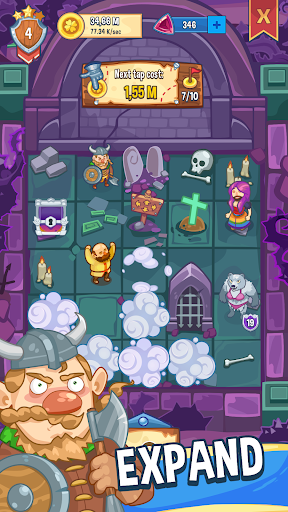 Code Triche ⚔️ Tap! Tap! Kingdom - Idle Clicker Fantasy RPG  APK MOD (Astuce) screenshots 3