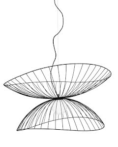 Globen Lighting Ray Taklampa Svart 115 cm - lavanille.com