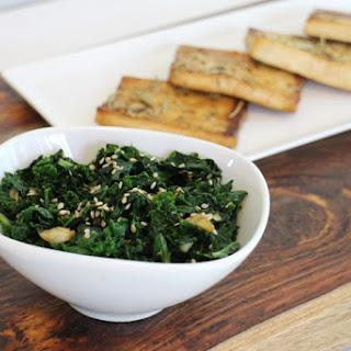 Ginger-sesame Kale