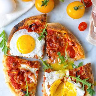 Egg & Pancetta Breakfast Pizza