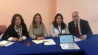 Trinidad Cabeo y Alicia Cañadas en una reunión del Foro