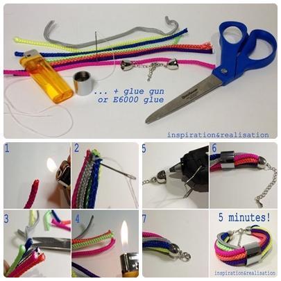 DIY手链创意教程