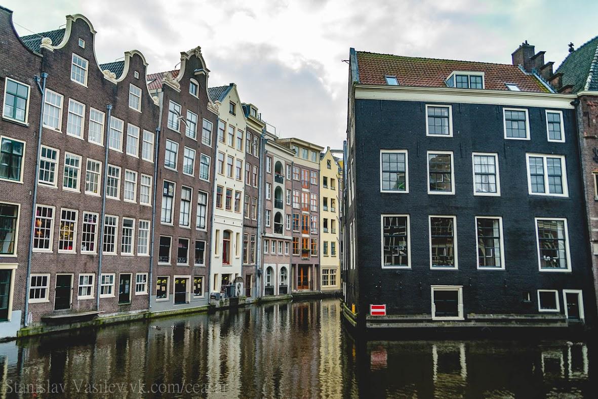 Реки и каналы Амстердама
