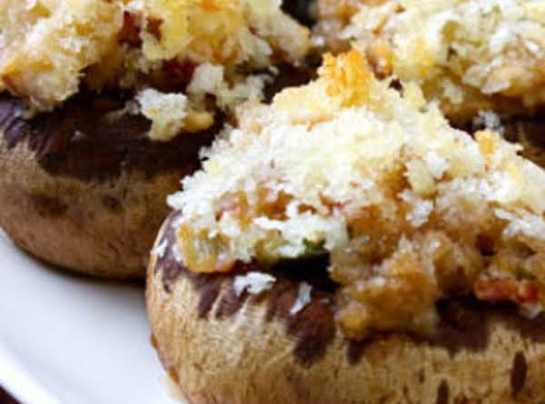 Stuffed Devil Mushrooms Recipe