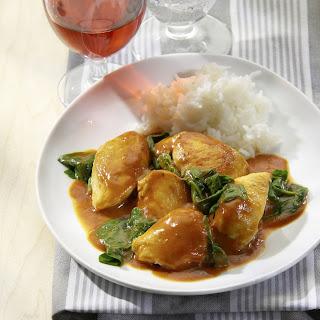 Hähnchen-Tomaten-Curry