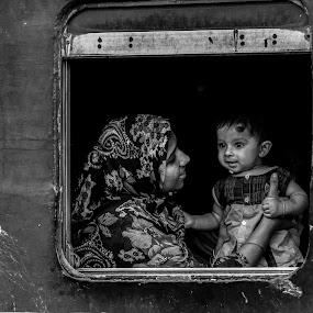 Love by Iqbal Kabir - Black & White Portraits & People