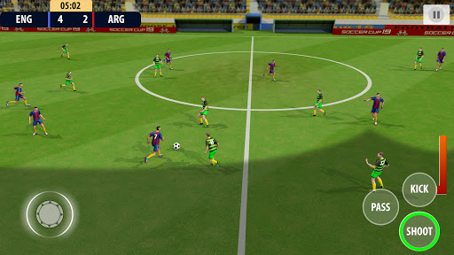 Soccer League Dream 2021: World Football Cup Game apkmr screenshots 1
