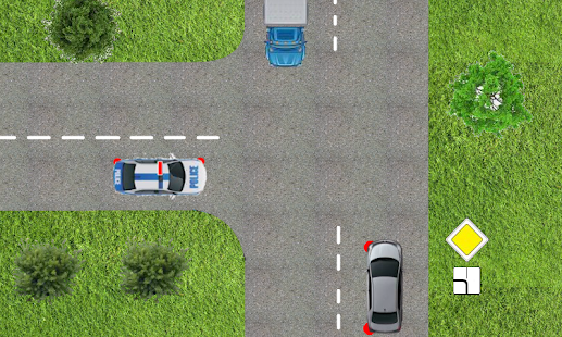 Driver Test Trainer : crossroads, signs, rules.- screenshot thumbnail
