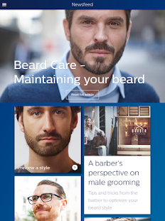 Grooming: styling & shaving- screenshot thumbnail