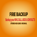 Fire AIO Backup- SMS Apps Logs icon