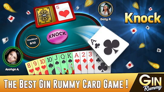 Gin Rummy – Best Free 2 Player Card Games 1