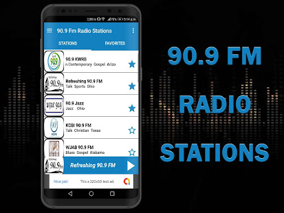 90 9 Fm Radio Stations App Free for PC / Windows 7, 8, 10