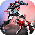 US Police Real Robot Wolf Transforming Robot Games icon