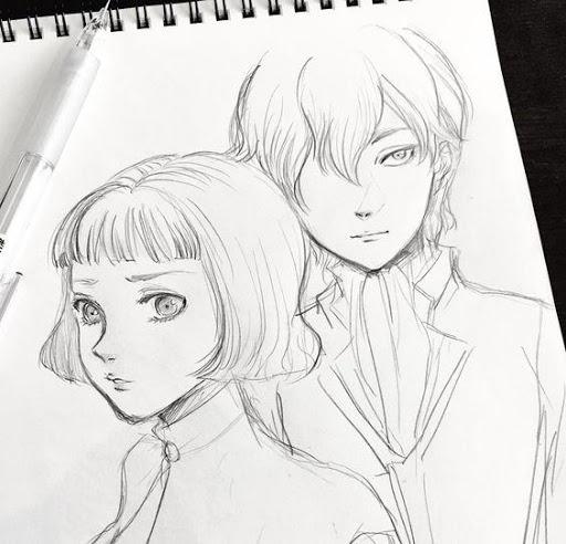 Drawing Anime Couple Ideas screenshots 4
