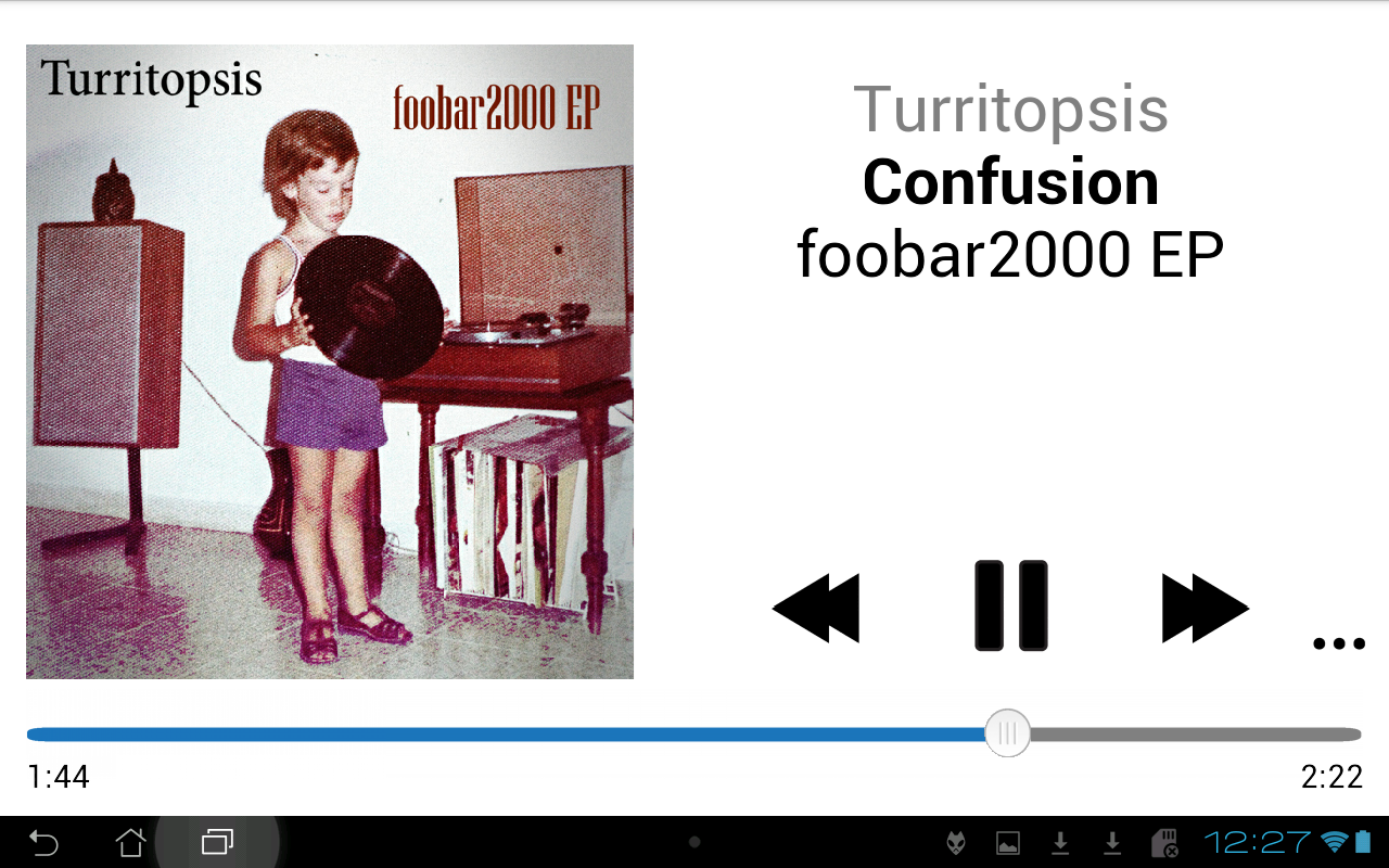 foobar2000- screenshot