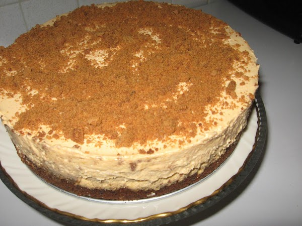 Ginger Crunch Pumpkin Mousse Cheesecake Recipe