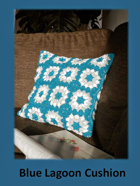 instruction videos for crochet cushion granny squares and waves