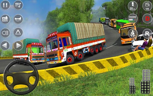 Indian Truck Spooky Stunt : Cargo Truck Driver 2
