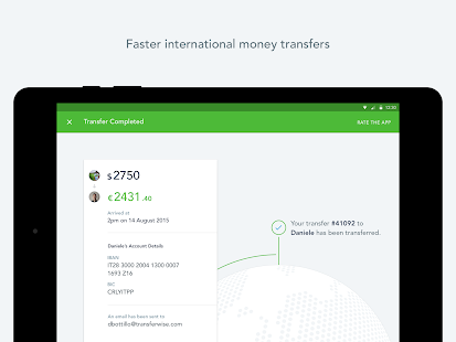 TransferWise Money Transfer - screenshot thumbnail