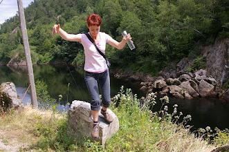 """Photo: Und ab nach unten vom """"hohen"""" Aussichtspunkt."""