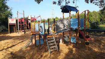 Zona infantil del Parque Turó de Can Mates