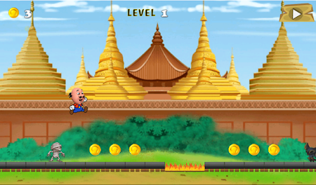 Motu Patlu Running Game 1.0 screenshot 506193