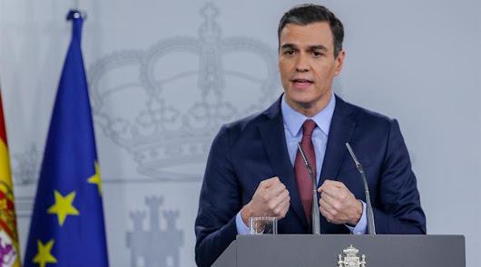 Sánchez comparece para explicar las nuevas restricciones para frenar la pandemia