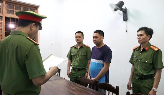 Thực hiện lệnh bắt giữ đối tượng Nguyễn Xuân Thủy