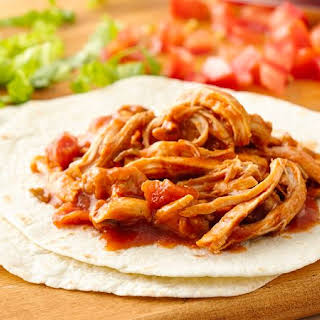 Slow-Cooker Shredded Mexican Chicken.